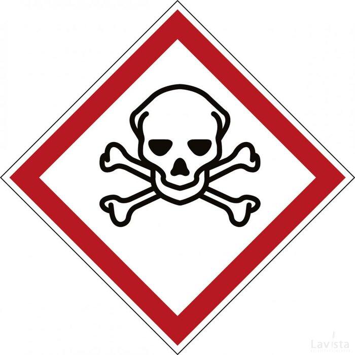 Ghs Symbool - Ghs06 - Giftig (Sticker)