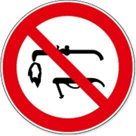 Lassen Verboden (sticker)