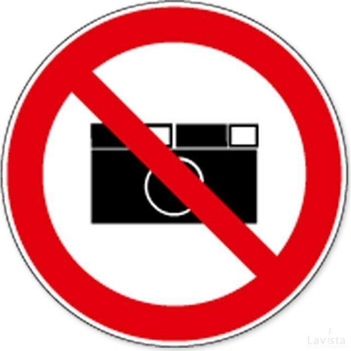 Fotograferen Verboden (sticker)
