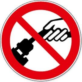 Verboden Aan De Kabel Te Trekken (sticker)