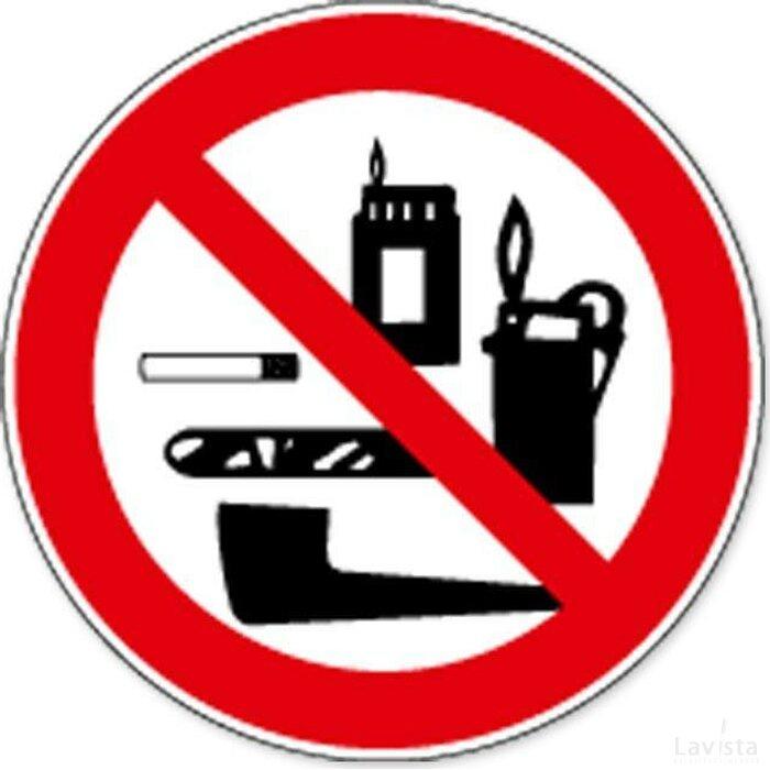 Tabaksartikelen Verboden (sticker)