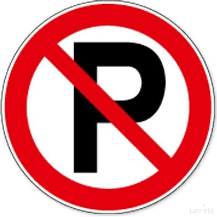 Parkeren Verboden (sticker)
