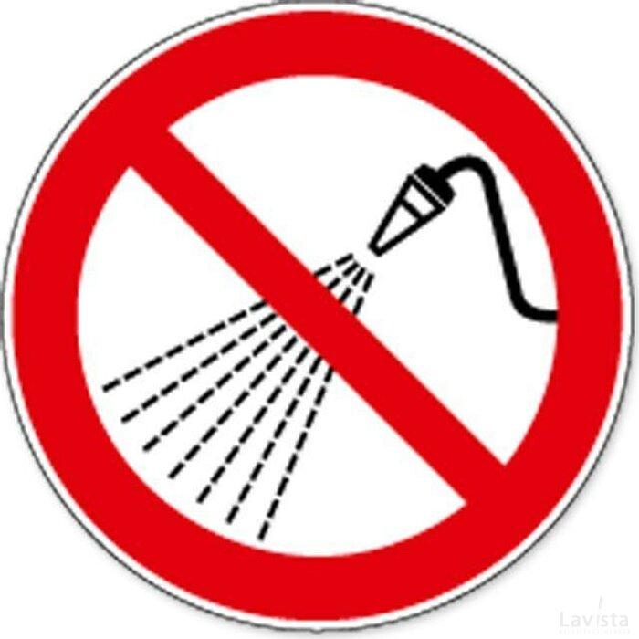 Niet Besproeien Met Water (sticker)