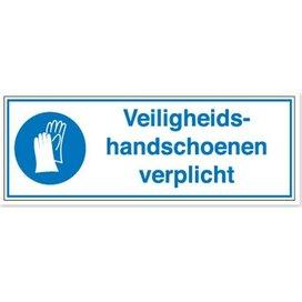 Veiligheidshandschoenen Verplicht (Sticker)