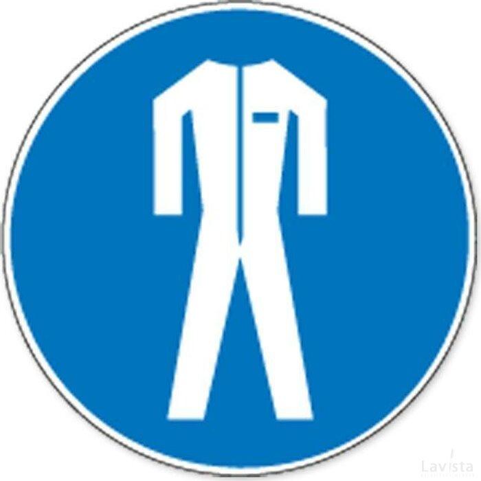 Beschermkledij Verplicht (sticker)