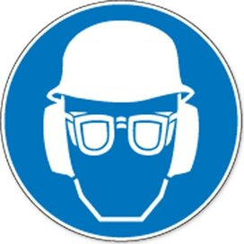 Volledige Bescherming Verplicht (Sticker)