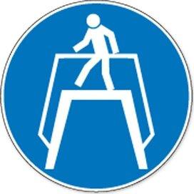 Oversteekplaats Gebruiken (Sticker)