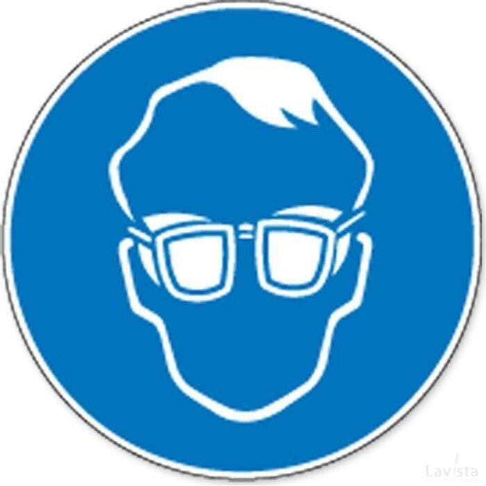 Dragen Van Opaak Bril Verplicht (sticker)