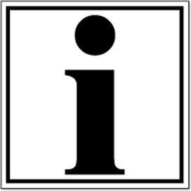 Informatie (sticker)