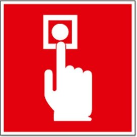 Brandmelder (sticker)