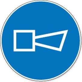 Geluidssignaal Geven (sticker)