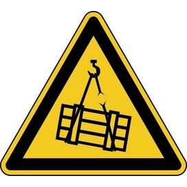 Waarschuwing; Hangende Last (sticker)