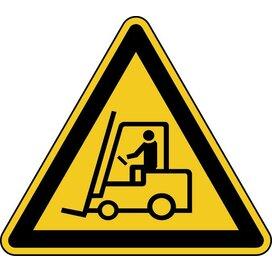 Waarschuwing; Transportvoertuigen (Sticker)
