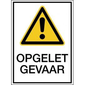 Waarschuwing; Algemeen Pictogram (sticker)