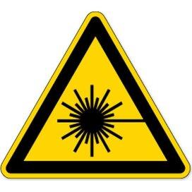 Waarschuwing; Laserstraal (Sticker)