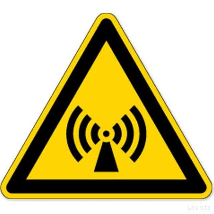Waarschuwing: Niet-Ioniserende Straling (Sticker)