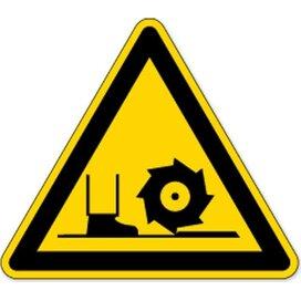 Waarschuwing; Freesspil (sticker)