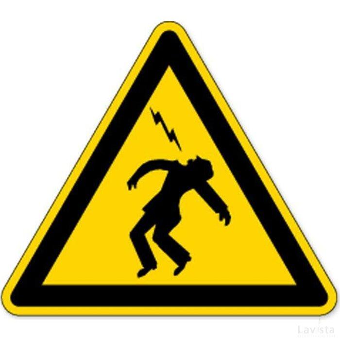 Waarschuwing; Overslaande Spanning (sticker)