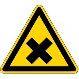 Waarschuwing; Schadelijke Of Irriterende Stoffen (Sticker)