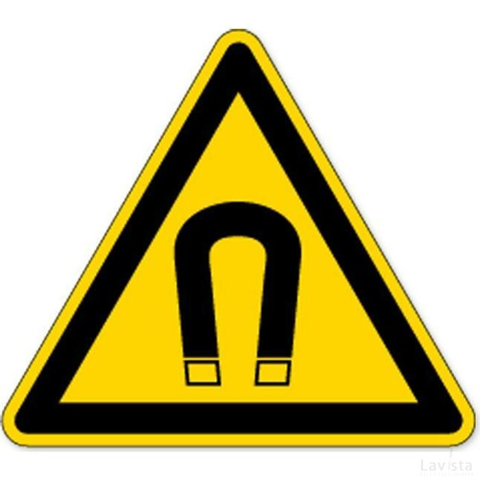 Waarschuwing; Magnetisch Veld (sticker)
