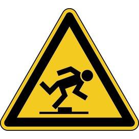 Waarschuwing; Struikelgevaar (Sticker)