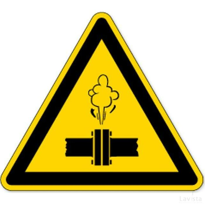 Stoom Onder Hoge Druk (Sticker)