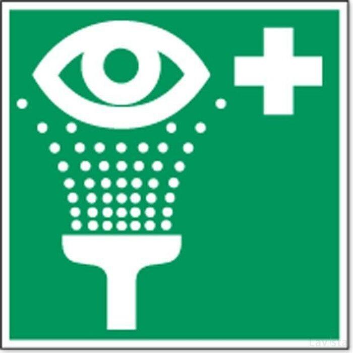 Oogdouche (sticker)