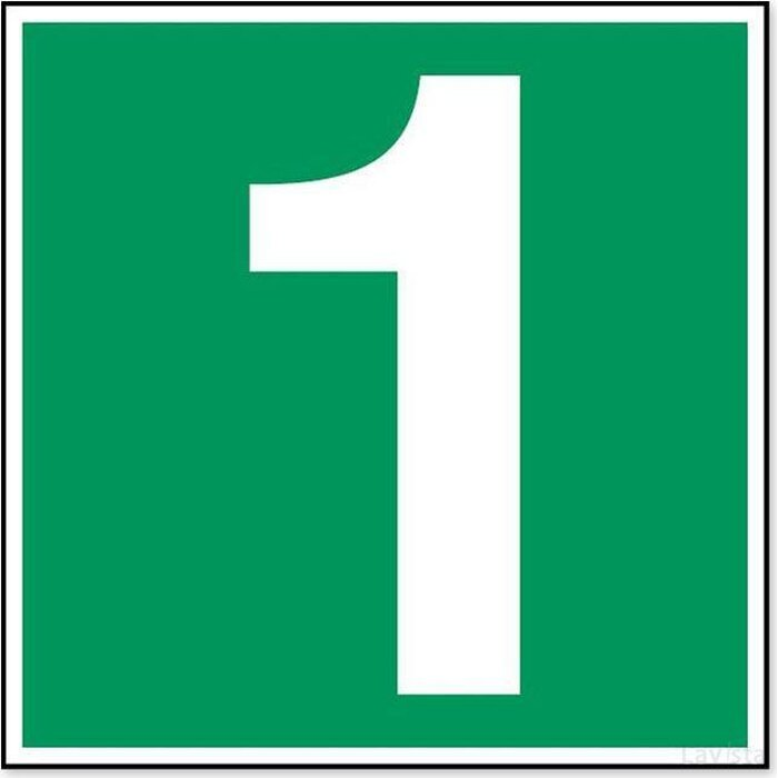 Nummer -1 (sticker)
