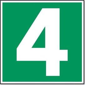 Nummer 4 (sticker)