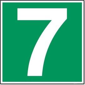 Nummer 7 (sticker)
