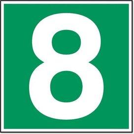 Nummer 8 (Sticker)