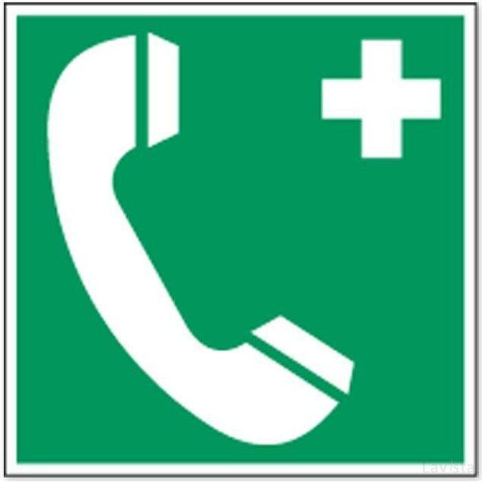 Telefoon Voor Noodgevallen (Sticker)