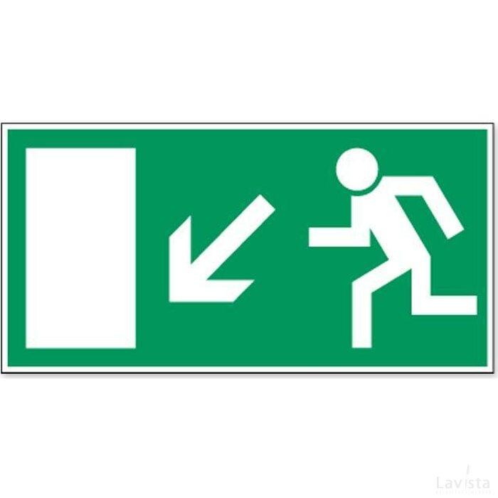 Vluchtweg Via Trap (sticker)