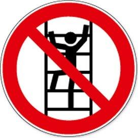 Klimmen Verboden (sticker)