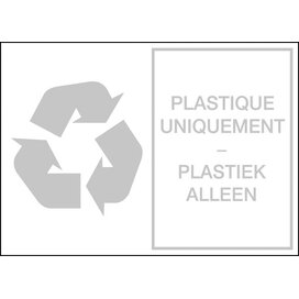 Plastiek (sticker)