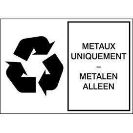 Metalen (Sticker)