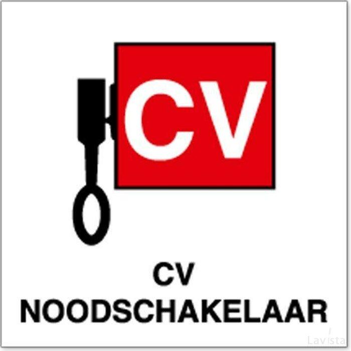 Locatieaanduiding Cv Noodschakelaar (Sticker)