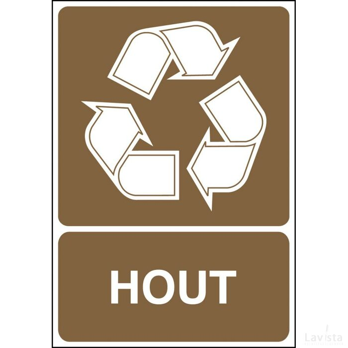 Hout (Sticker)
