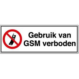 Gebruik Van Gsm Verboden (sticker)