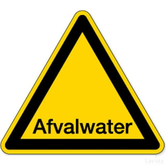Afvalwater (Sticker)