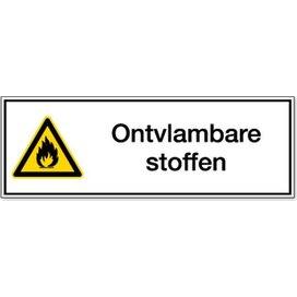 Ontvlambare Stoffen (Sticker)