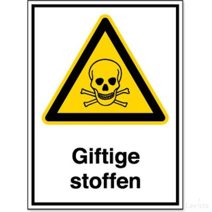 Giftige Stoffen (Sticker)
