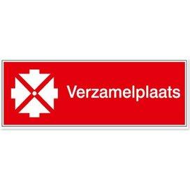 Verzamelplaats Voor Interventiediensten Zowel Intern Als Extern (sticker)