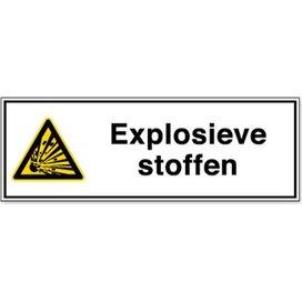 Explosieve Stoffen (Sticker)