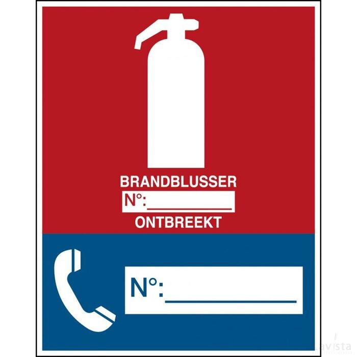 Calamiteitenbord (sticker)