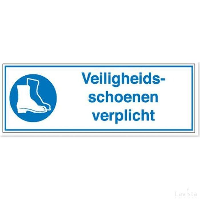 Veiligheidsschoenen Verplicht (sticker)