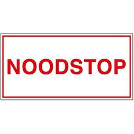 Noodstop (Sticker)