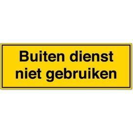 Buiten Bedrijf Laten (Sticker)