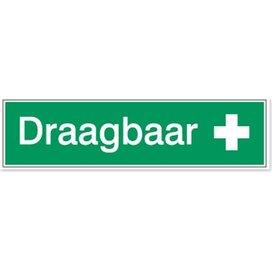 Draagbaar (Sticker)