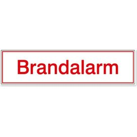 Brandalarm (Sticker)